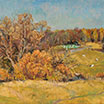 Golden autumn. 1995. Oil on canvas.